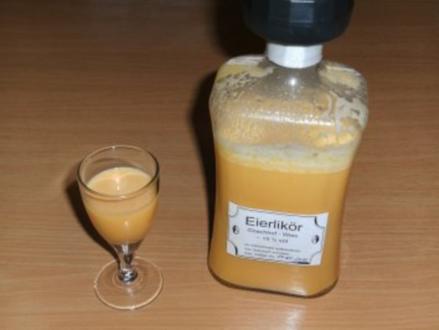 Getränk: Eierlikör - klassisch - Rezept