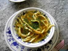 Pfannkuchensuppe - Rezept