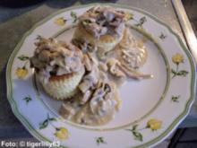 Königin-Pastetchen - Rezept