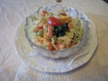 Avocadossalat - Rezept