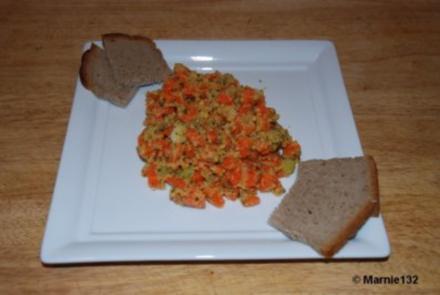 Linsen-Möhren Salat - Rezept