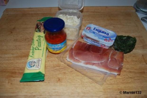 Pizzaschnecken 2.Variante - Rezept - Bild Nr. 2