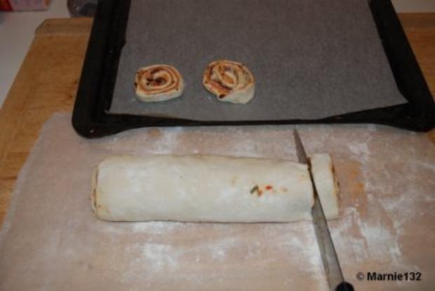 Pizzaschnecken 2.Variante - Rezept - Bild Nr. 6