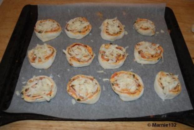 Pizzaschnecken 2.Variante - Rezept - Bild Nr. 7