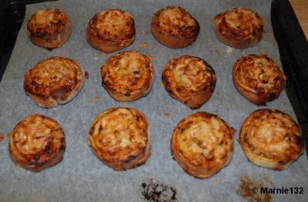 Pizzaschnecken 2.Variante - Rezept - Bild Nr. 8
