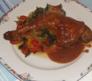 Geschmortes Wirsing - Paprika - Gemüse - Rezept