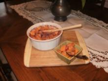Kartoffeln Suesse - Cranberries- glazed mit Ahornsyrup - Fettarm- Mit Bildern eingestellt - Rezept