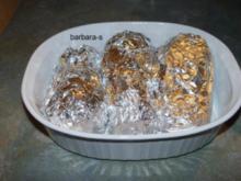 Gemüse-Gerichte: Auberginen, gefüllt und überbacken - Rezept