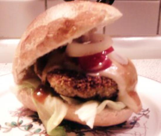 Fischburger wie ich ihn mag - Rezept