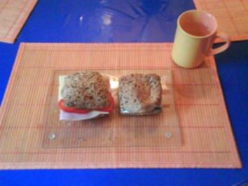 Frühstück: Belegte Brötchen - Rezept