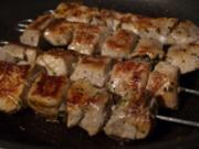 Souvlaki - Griechische Fleischspiesse - Rezept