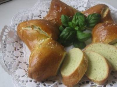 Basilikum-Knoblauch-Stern - Rezept