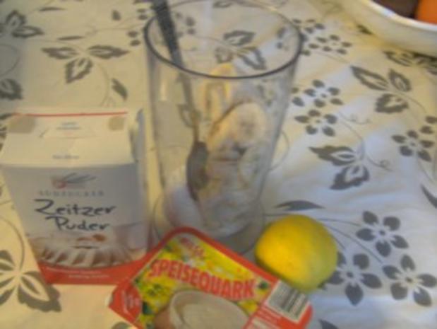 Bananen-Ouark-Eis - Rezept - Bild Nr. 2