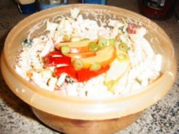 Nudel-Zuccini-Fenchel-Salat - Rezept