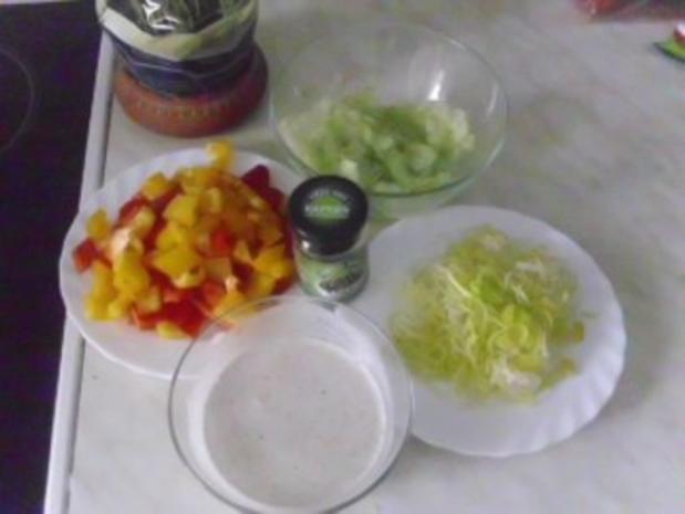 Bunter Nudelsalat mit Thunfisch - Rezept - Bild Nr. 3