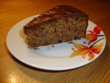 Bananen-Schokoladen-Kuchen - Rezept