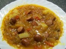 Eintopf - deftiger Sauerkrauteintopf - Rezept