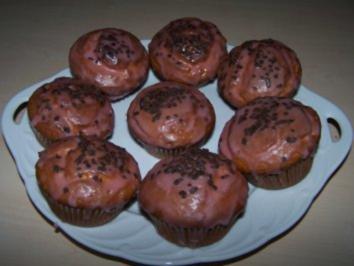 Marzipan-Kirsch-Muffins - Rezept