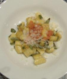 Piemonteser Kartoffelklößchen - Rezept