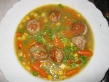 Kartoffel-Suppe mit  grobe Bratwurst - Rezept
