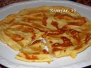 Apfel-Hefe-Pfannkuchen - Rezept