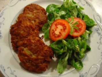 Rezept: Hackfleisch-Kartoffelpuffer.....mmmmmhhhh (ca. 20 Stück)