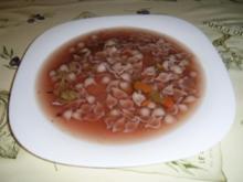 Krautsuppe mit Nudeleinlage - Rezept