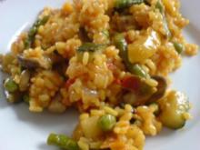 Reispfanne nach Andalusische Art - Rezept