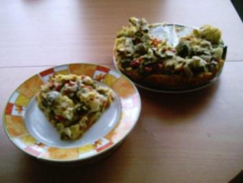 Auflauf: Gemüsekuchen - Rezept