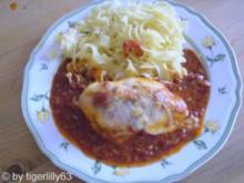 Hähnchenbrust in Tomatensauce - Rezept
