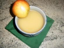 Apfel-Zwiebel-Scmalz mit Gänsefett - Rezept