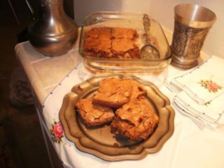 Brownies - Schnell und lecker die Amerikanischen Kinder essen diese warm  mit eiskalter Milch nach der Schule-Mit Bild eingestellt - Rezept