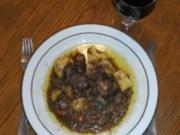 Fleisch: Schafrücken geschmort - Rezept