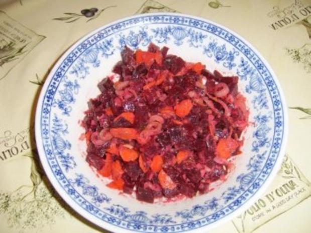 Rote Beete Salat Nr.: 2 - Rezept