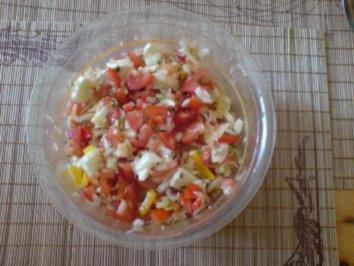Tomaten-Morzarella Salat mal anders - Rezept