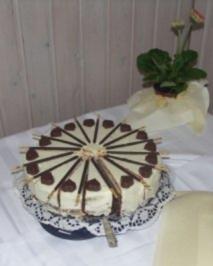 Milka - Schoko - Torte - Rezept