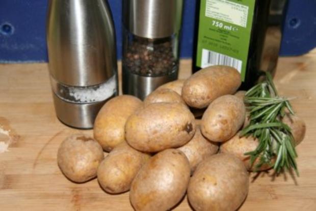 Kalbsrouladen mit Rosmarinkartoffeln - Rezept - Bild Nr. 2