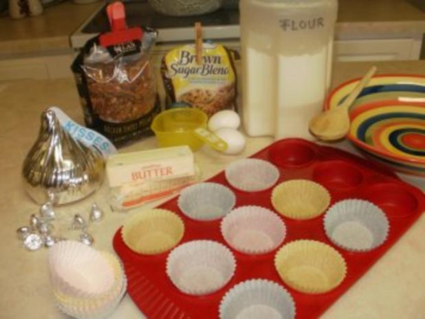 Muffin - Pekan Pie - Leicht und lecker zum kochen - nicht viel Arbeit- habe 4 Bilder eingestellt - Rezept - Bild Nr. 2