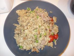 Curry Rindfleisch Reis (mild) - Rezept