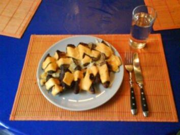 Kartoffeln: Mexikanische Kartoffelspalten mit Käse und Ei - Rezept