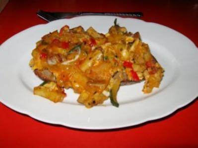 Spanische Gemüse-Tortilla - Rezept