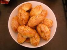 Gefüllte Teigtaschen (Pogaca) - Rezept