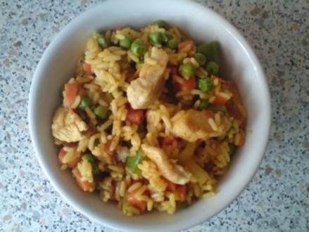 Chinesische Reispfanne - Rezept
