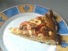Tomaten-Quiche - Rezept