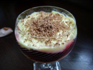 Dessert: Paradiesische Quarkcreme mit Preiselbeeren - Rezept