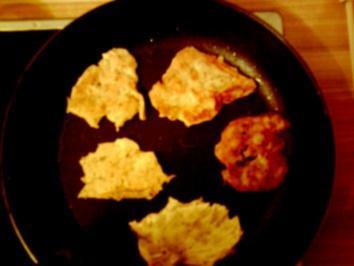 Herzhafte Kartoffelbreiplinsen / Kartoffelpfannkuchen - Rezept