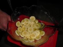 Omelett mit Bananen. - Rezept