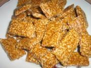 Caramel Sesam Bonbons - Rezept