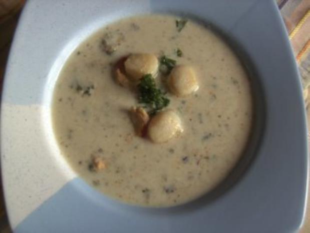 Suppen: Muschelsuppe - Rezept
