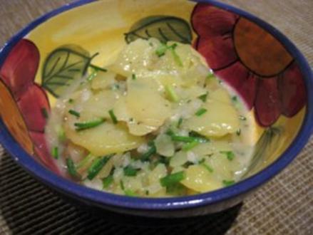 Schwäbischer-Kartoffelsalat - Rezept